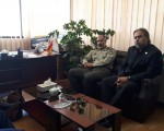 نشست صمیمی ارتش با بهزیستی استان تهران